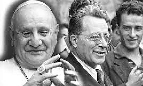 Palmiro Togliatti e Papa Giovanni